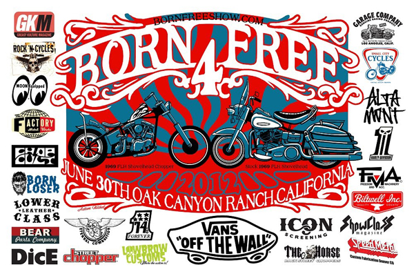 born-free-show-2012-poster